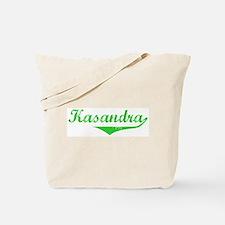 Kasandra Vintage (Green) Tote Bag