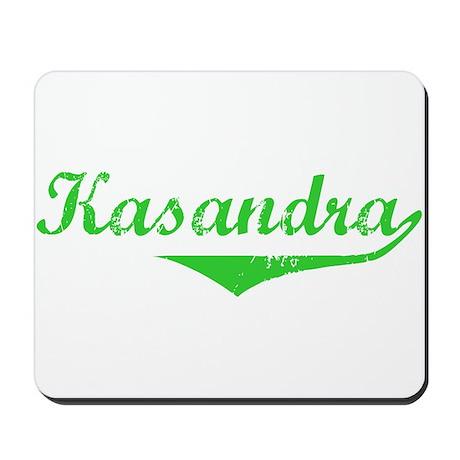 Kasandra Vintage (Green) Mousepad