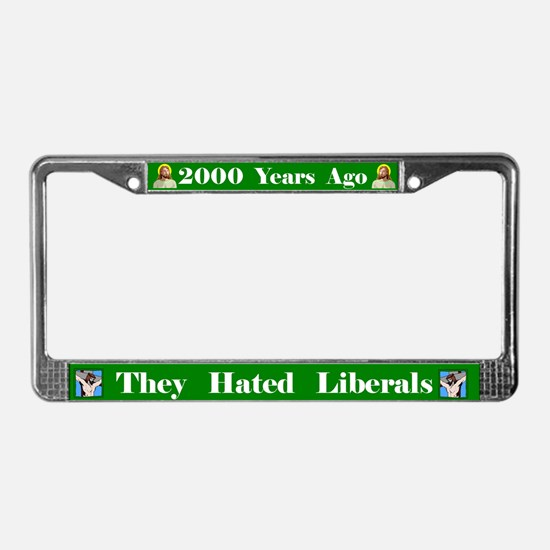 2000 Years #2 License Plate Frame