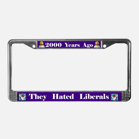 2000 Years #3 License Plate Frame