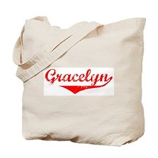Gracelyn Vintage (Red) Tote Bag