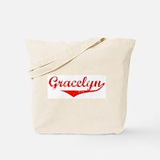 Gracelyn Vintage (Red) Tote Bag