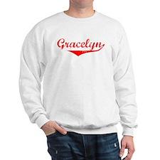 Gracelyn Vintage (Red) Sweater