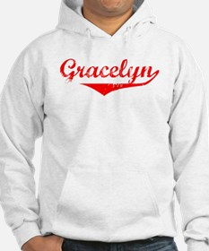 Gracelyn Vintage (Red) Hoodie Sweatshirt