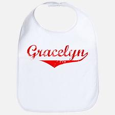 Gracelyn Vintage (Red) Bib