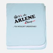 Unique Arlene baby blanket