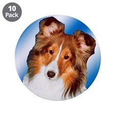"""Sheltie Gifts 3.5"""" Button (10 pack)"""