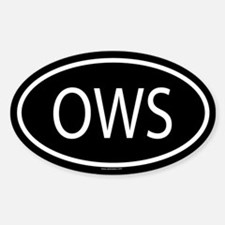 OWS Oval Decal