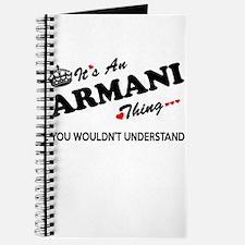 Cute Armani Journal
