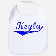 Keyla Vintage (Blue) Bib
