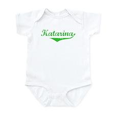 Katarina Vintage (Green) Infant Bodysuit