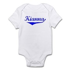 Kianna Vintage (Blue) Infant Bodysuit