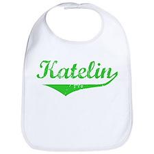Katelin Vintage (Green) Bib