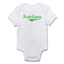 Katelynn Vintage (Green) Infant Bodysuit