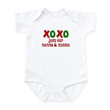 XOXO for Nonna & Nonno Onesie