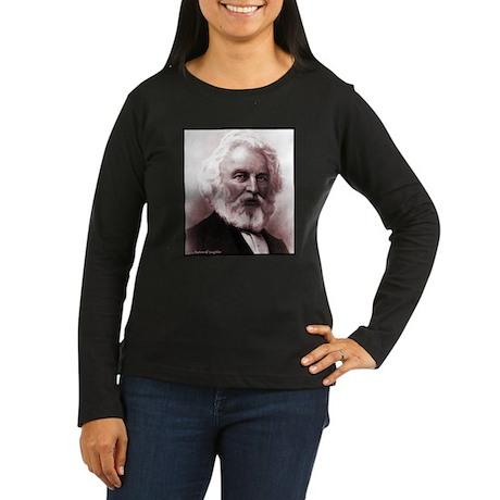 Longfellow Women's Long Sleeve Dark T-Shirt