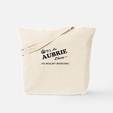 Cute Aubrie Tote Bag