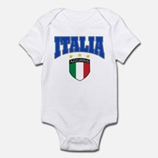 Italian soccer design Infant Bodysuit