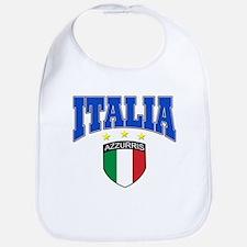 Italian soccer design Bib