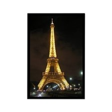 Eiffel Tower at Night, Rectangle Magnet