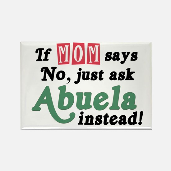 Just Ask Abuela! Rectangle Magnet