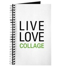Live Love Collage Journal