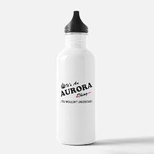 Cute Aurora Water Bottle