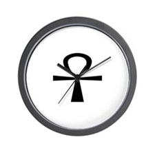 Large Ankh Wall Clock