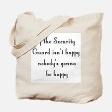 Security Guard Tote Bag