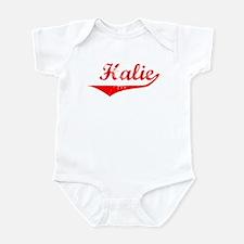 Halie Vintage (Red) Infant Bodysuit