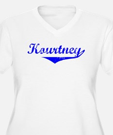 Kourtney Vintage (Blue) T-Shirt
