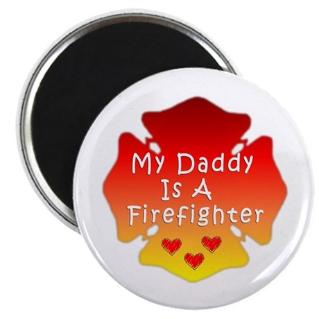 My Daddy Is A Firefighter Magnet
