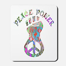 PEACE POWER Mousepad