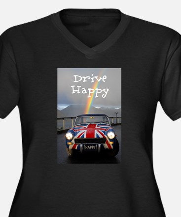 Drive Happy Plus Size T-Shirt