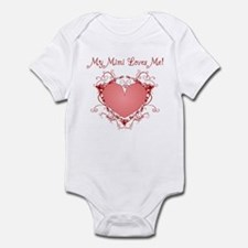 My Mimi Loves Me Heart Infant Bodysuit