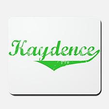 Kaydence Vintage (Green) Mousepad