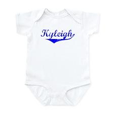 Kyleigh Vintage (Blue) Infant Bodysuit