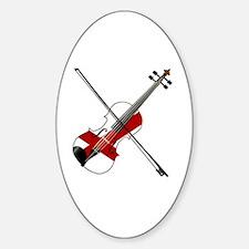 Cute Tune Sticker (Oval)