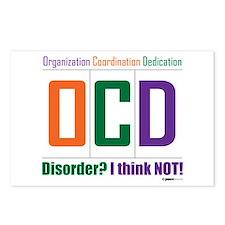 Celebrate OCD Postcards (Package of 8)