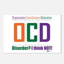 Celebrate OCD Postcards (Package of 8)
