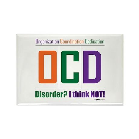 Celebrate OCD Rectangle Magnet
