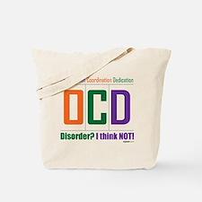Celebrate OCD Tote Bag