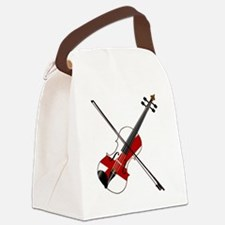 Chords Canvas Lunch Bag