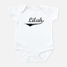 Lilah Vintage (Black) Infant Bodysuit