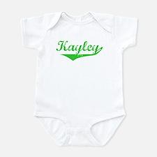 Kayley Vintage (Green) Infant Bodysuit