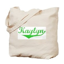 Kaylyn Vintage (Green) Tote Bag