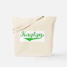 Kaylyn Vintage (Green) Tote Bag