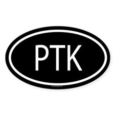 PTK Oval Decal