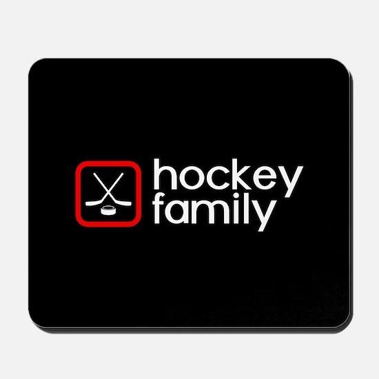 Hockey Family (Red) Mousepad