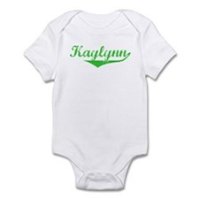 Kaylynn Vintage (Green) Infant Bodysuit